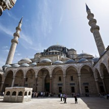 Sleymaniye Mosque in Istanbul, Turkey.