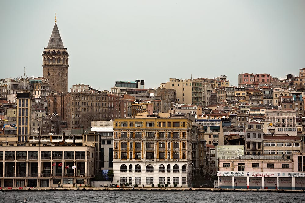 The Galata Tower & its Quarter, Istanbul.