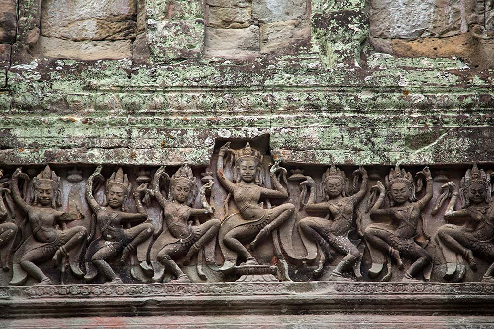 An Aspara dancer at Angkor Wat, Cambodia.