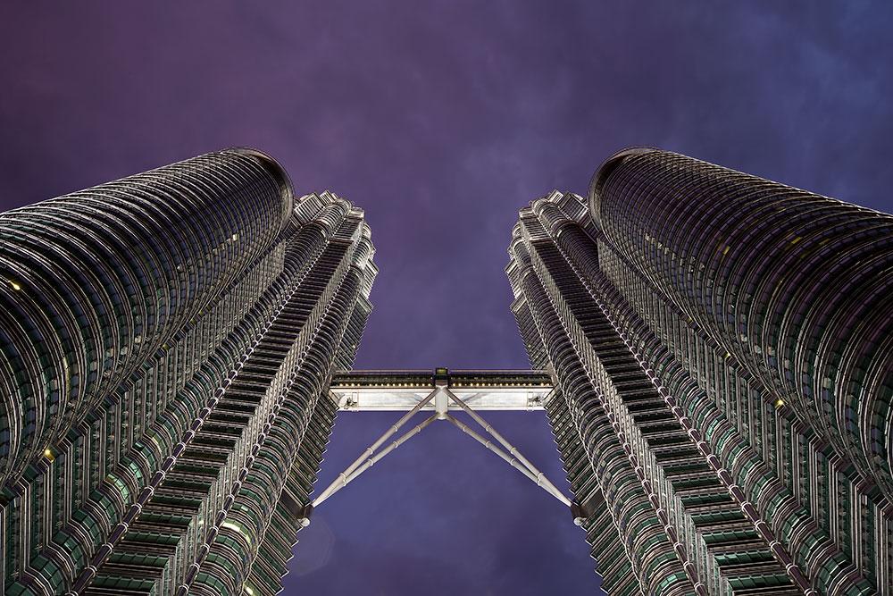 Petrona Towers - KLCC - in Kuala Lumpur.