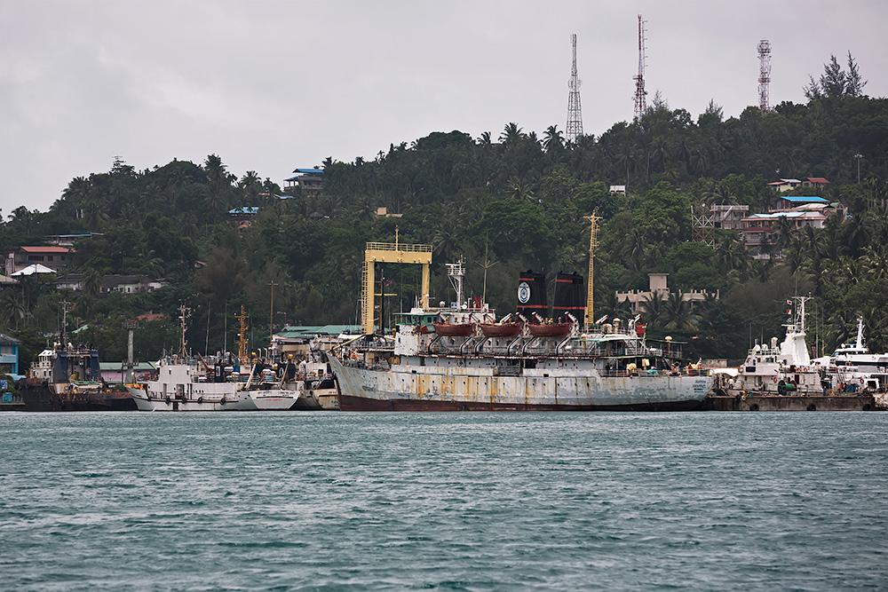 If you have a lot of time and are up for adventure, take the ferry ship from Kolkata to Port Blair, Andaman Islands.