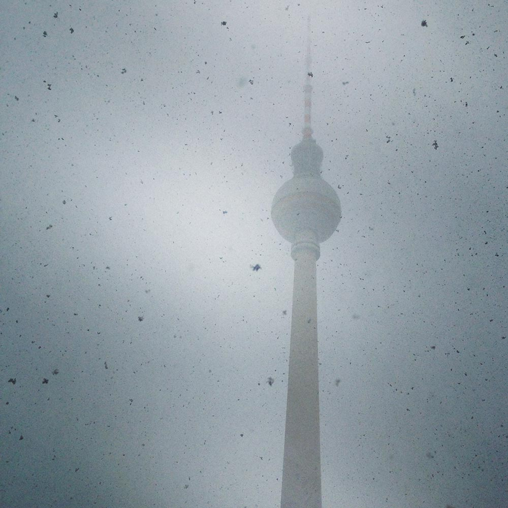 TV Tower on Alexanderplatz in Berlin, Germany.