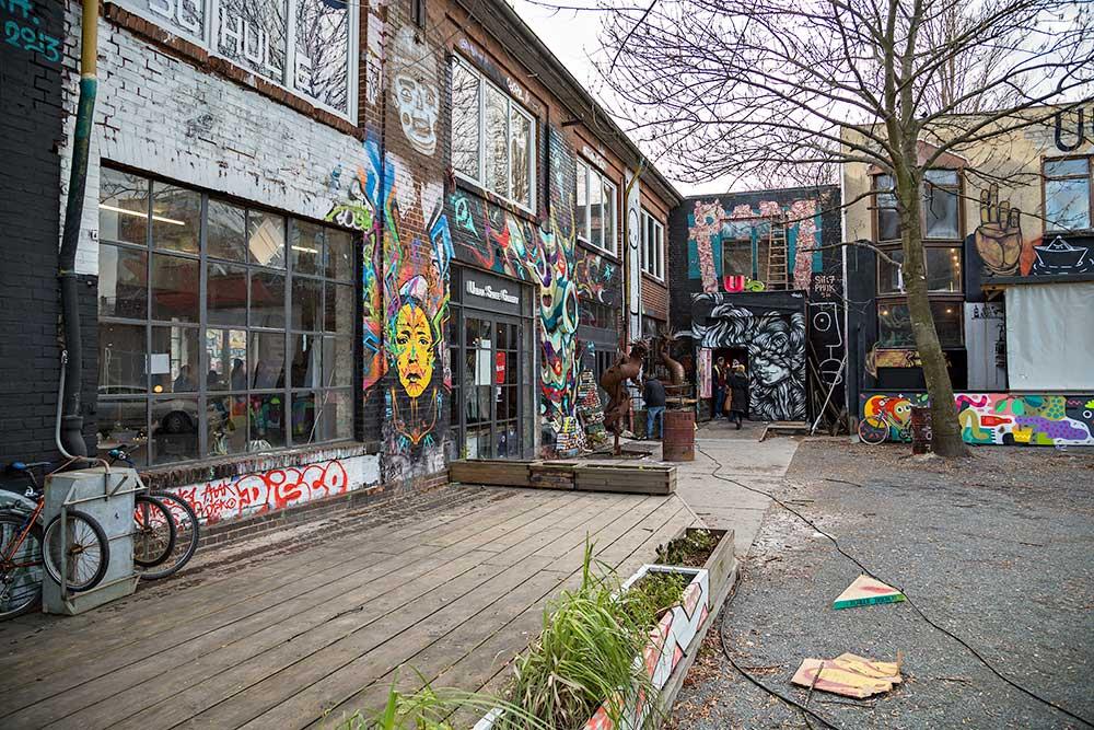 """Urban Spree"" in Berlin-Friedrichshain."