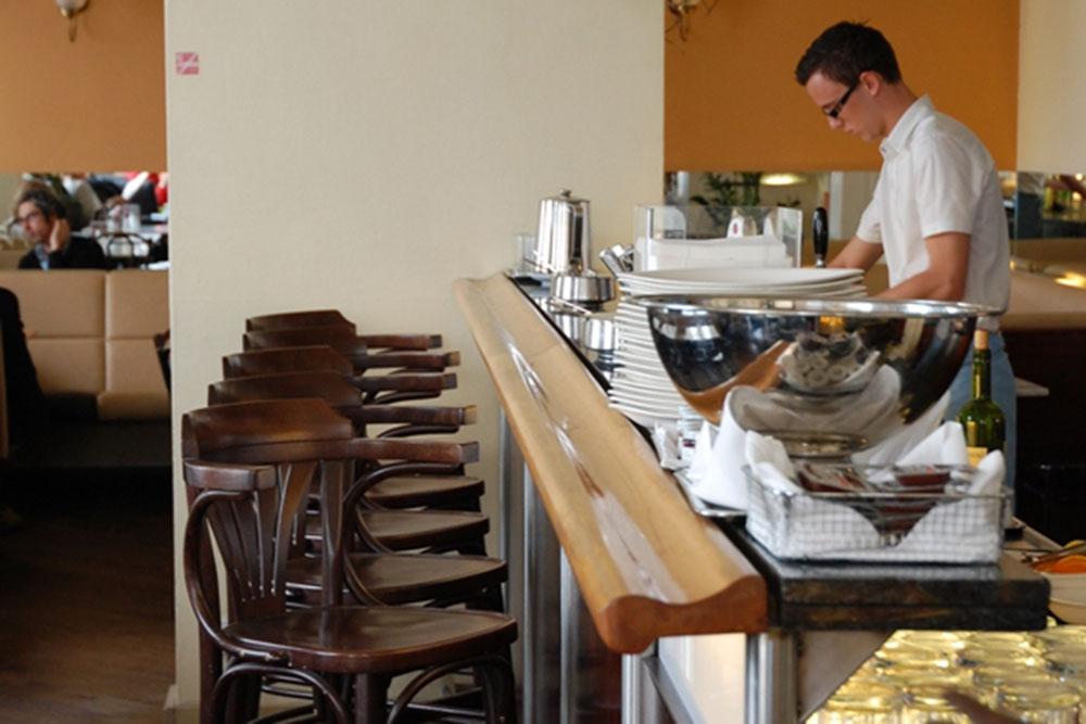 Café Berg in Vienna.