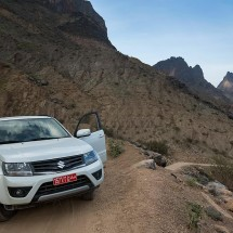 Experience the countryside of Oman with a good 4x4 SUV.