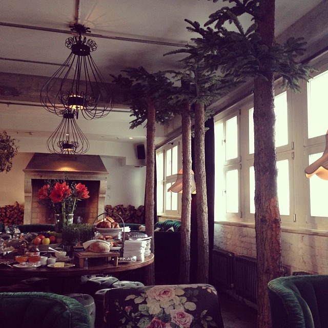 Soho House Berlin | Breakfast Area.