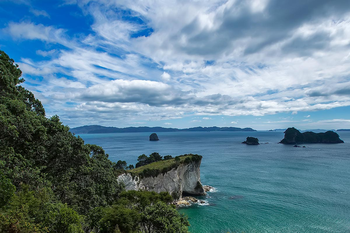 Cathedral Cove is one of the most picturesque spots on the Coromandel Peninsula.
