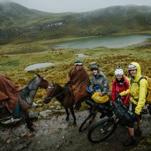 The Huayhuash by bicycle.