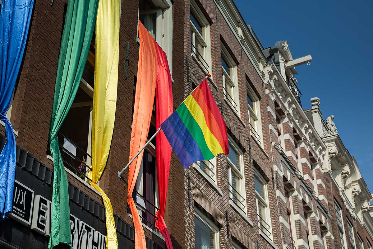 Nowhere in the world you will find so many gay-friendly attractions per square metre as in the city centre of Amsterdam.