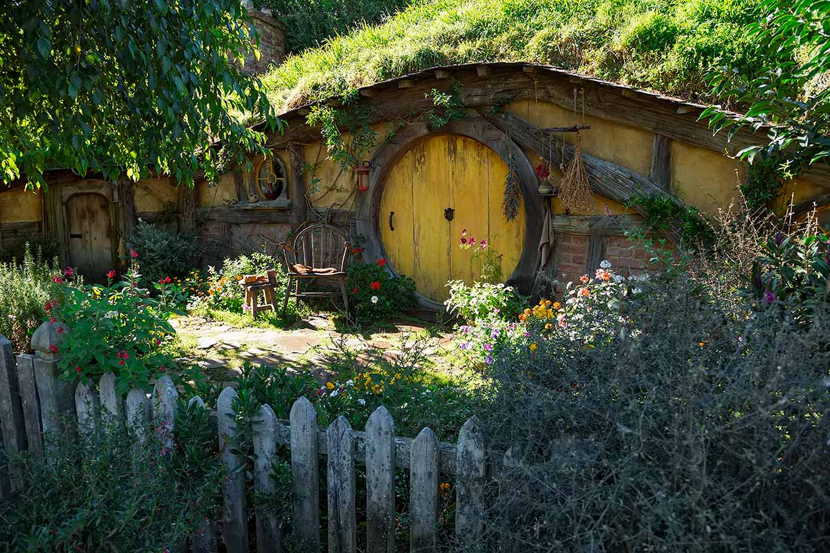 Sam's House at Hobbiton in Matamata, New Zealand.