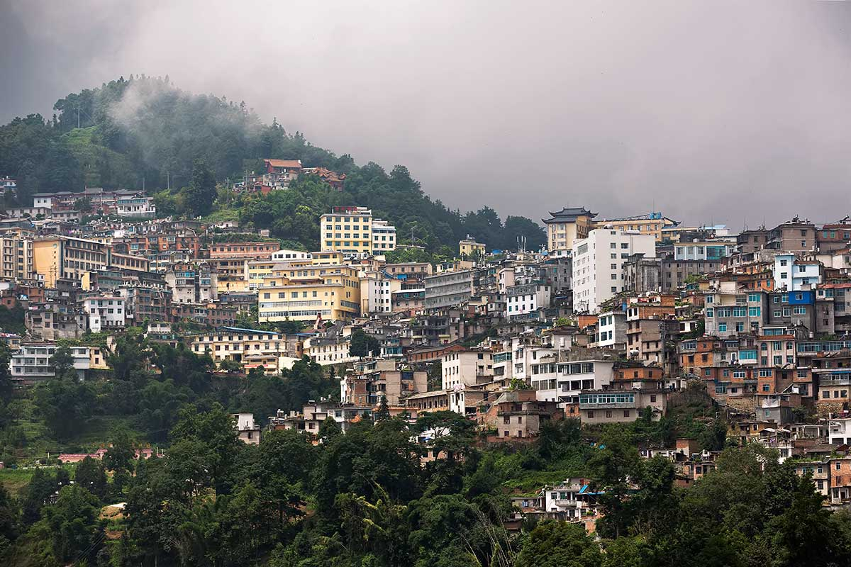 Xinjie village - aka Old Yuanyang - is the traditional heart of the county.
