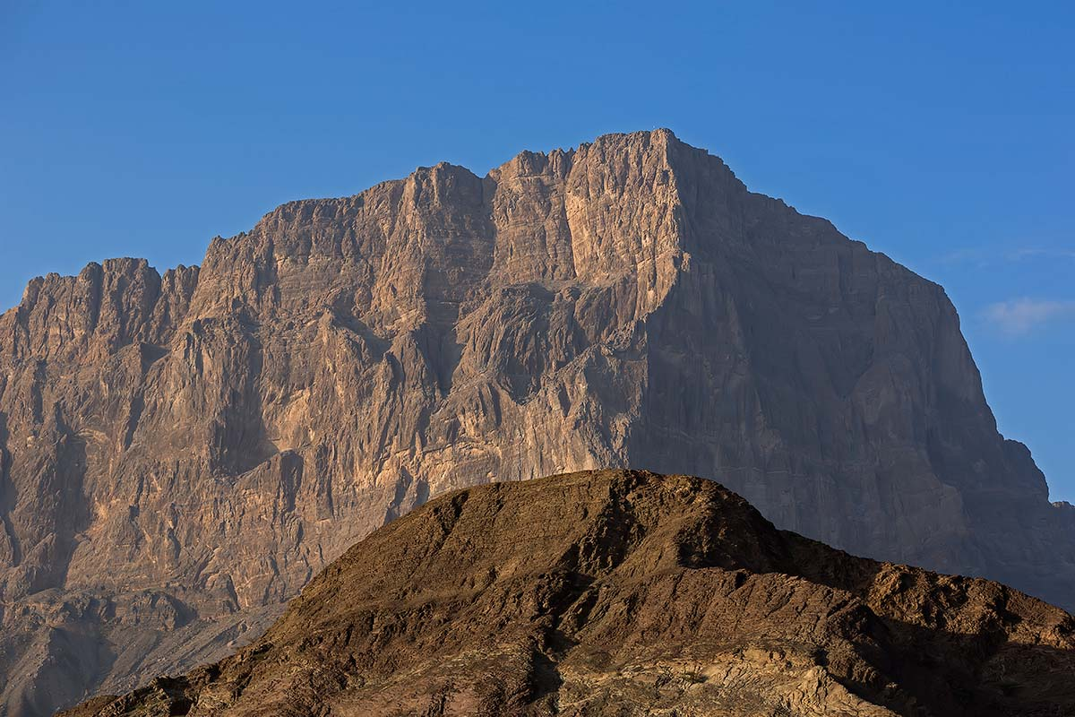 The mountains of Jebel Akhdar in Oman make quite an impression.