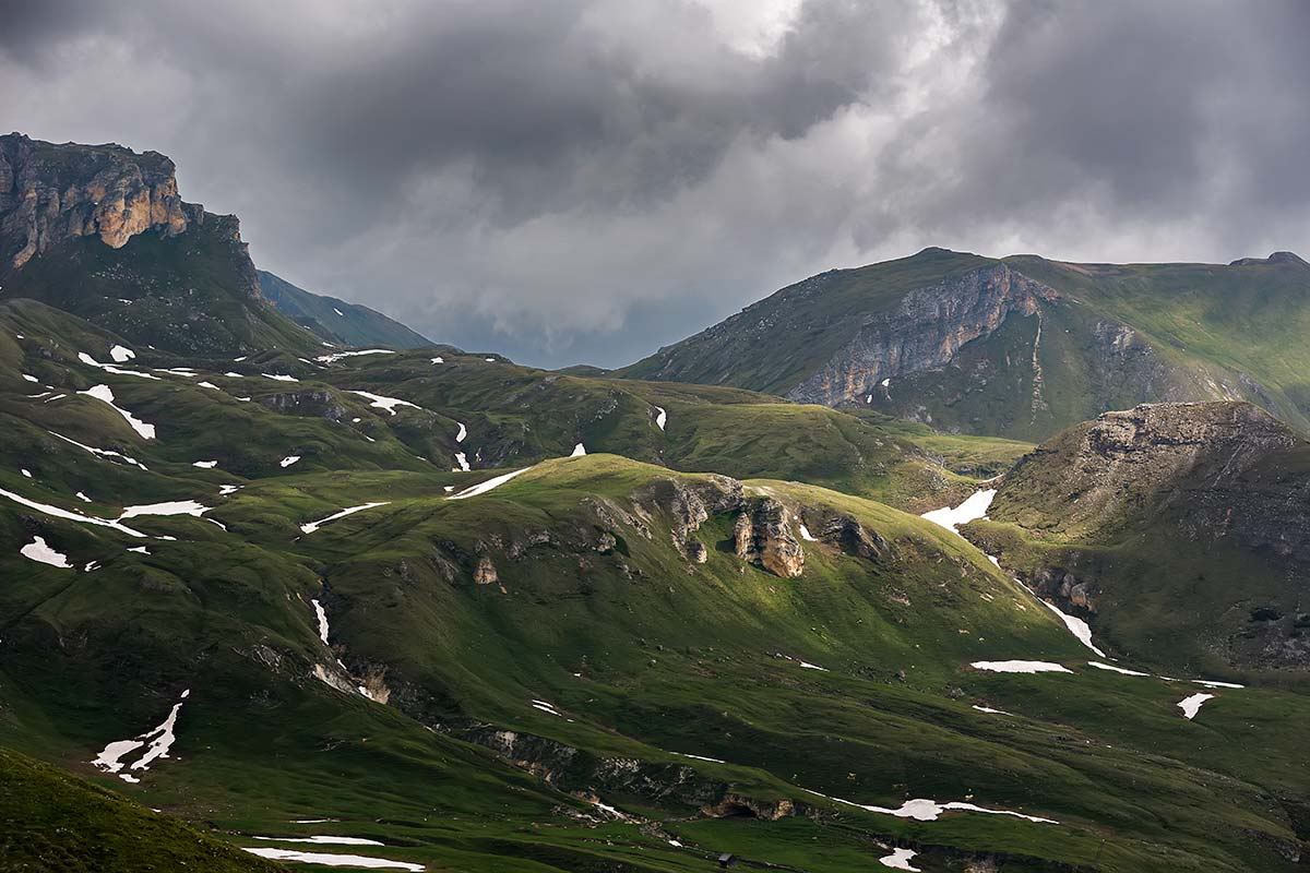 The landscape around Austria's highest mountain - the Grossglockner - even blew us Austrians away...