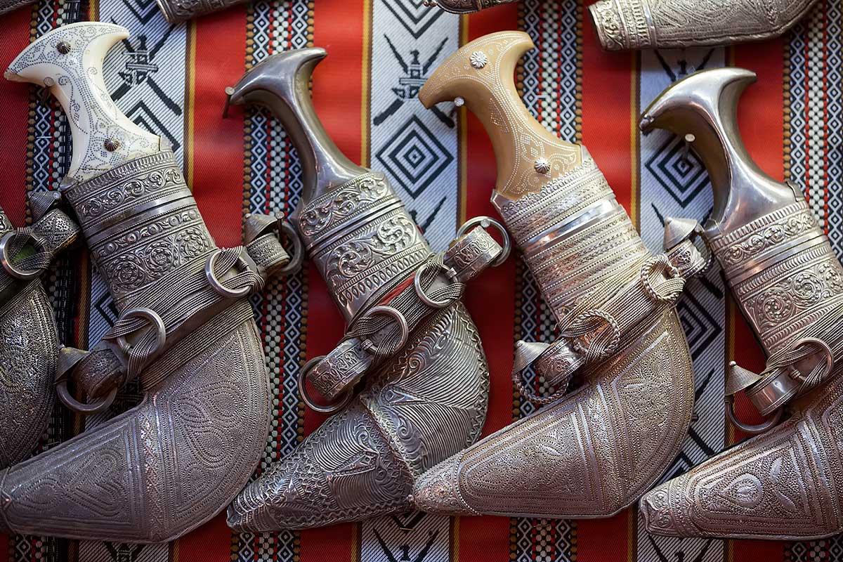 Sabres in Muscat, Oman.