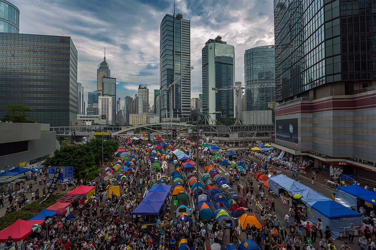 It's hard to believe for how long the Umbrella Movement protesters have barricaded themselves in the financial district of Hong Kong.