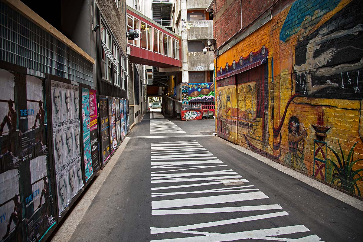Street artist have done some amazing graffiti work in the centre of Wellington.