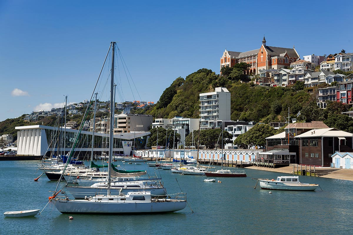Walking along the waterfront of Wellington is an absolute must for every visitor.