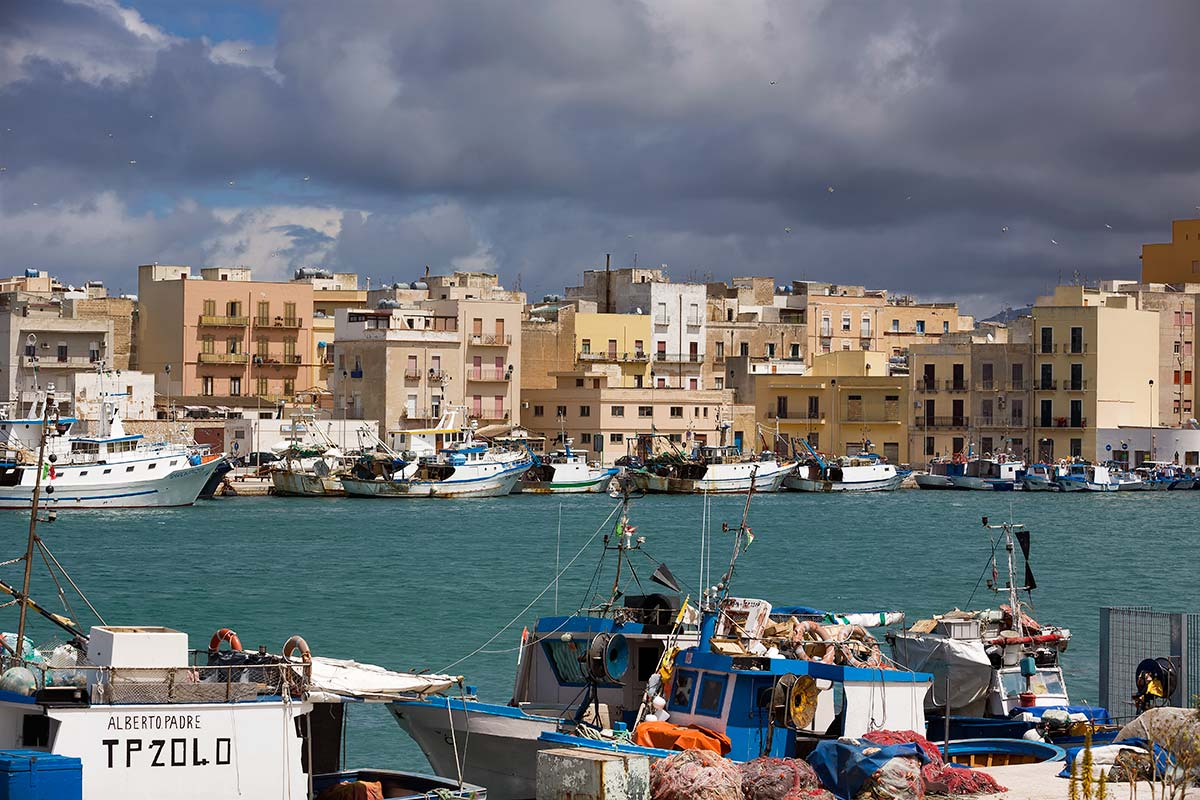 Locking the harbour where Peter III of Aragon landed in 1282, Trapani still gives the impression of simple Sicilian authenticity. .