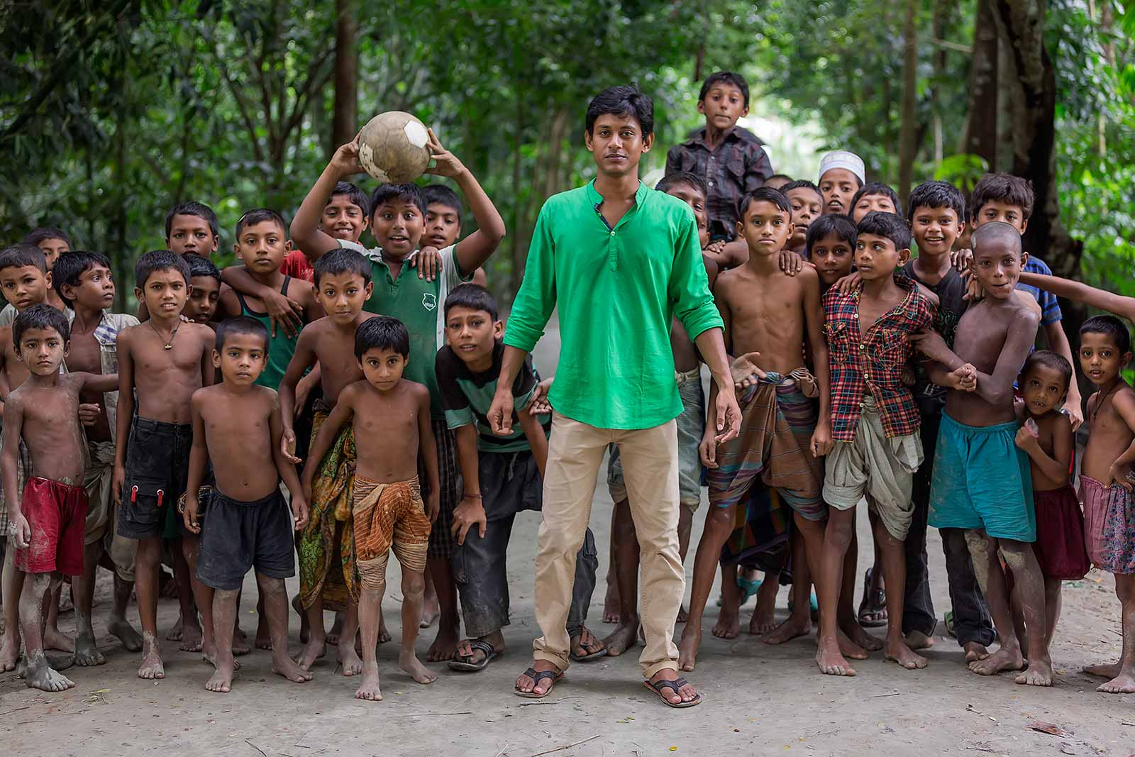 group-of-children-playing-football-swarupkathi-bangladesh