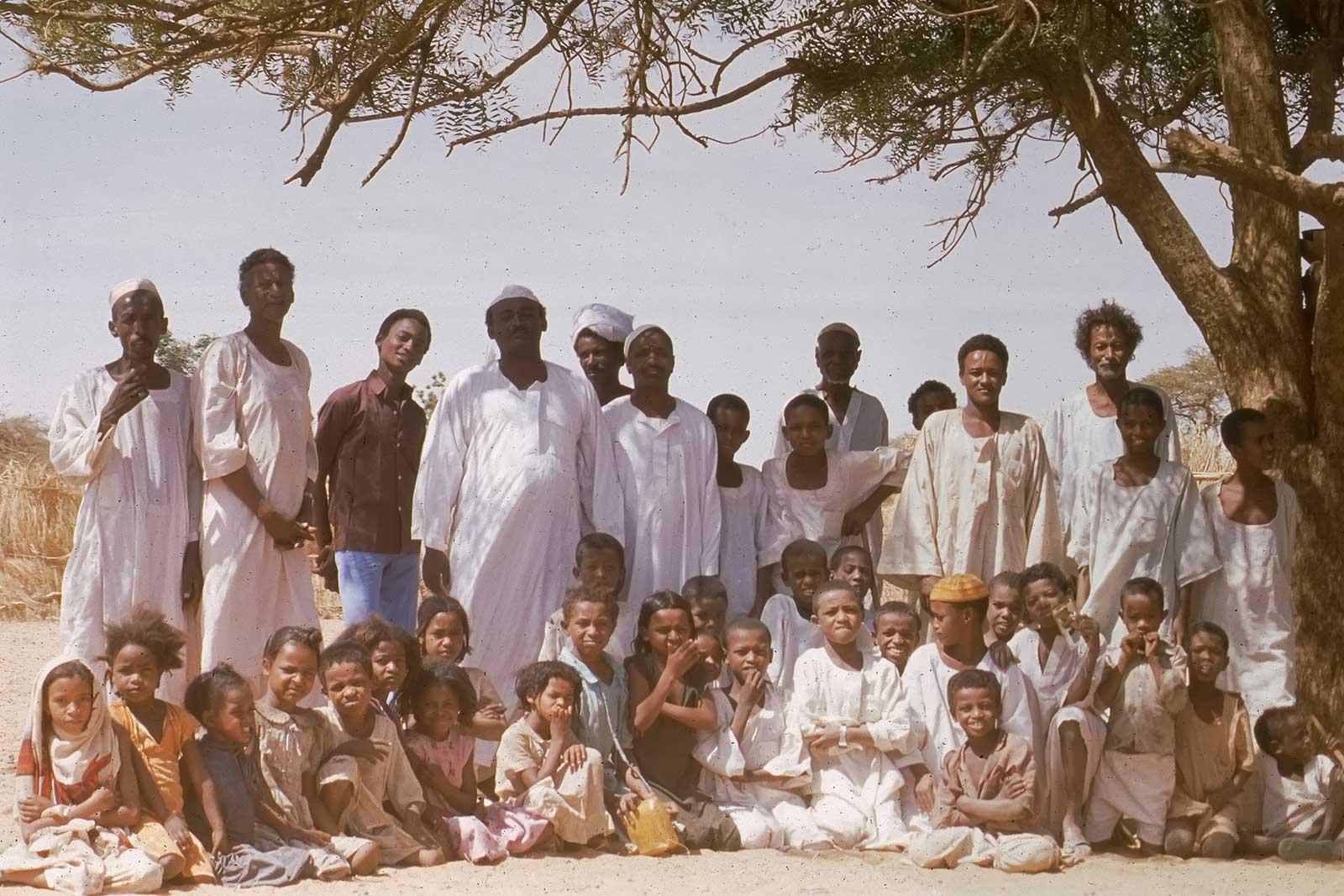 northern-sudan-village-trucking-africa