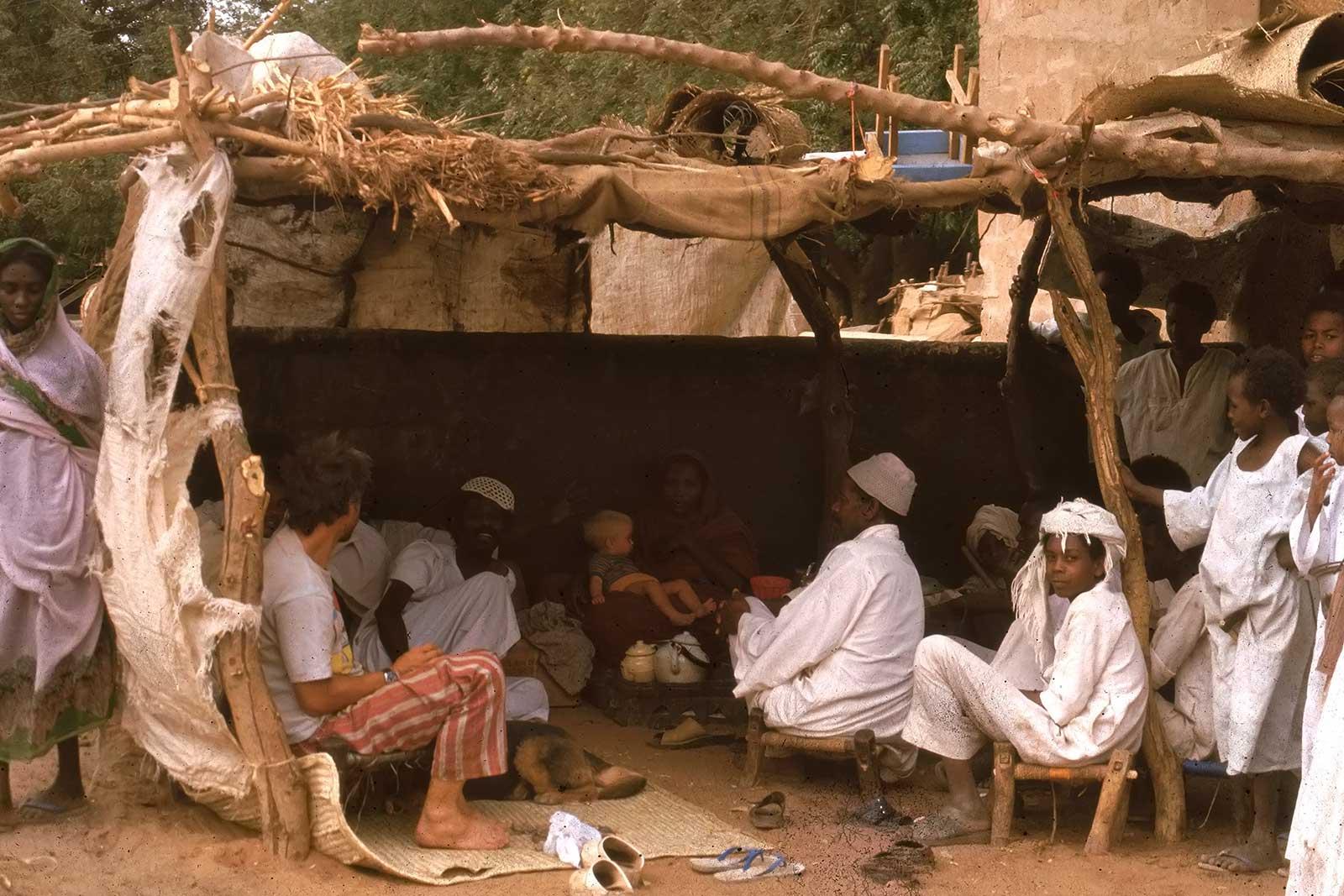 village-northern-sudan-trucking-africa