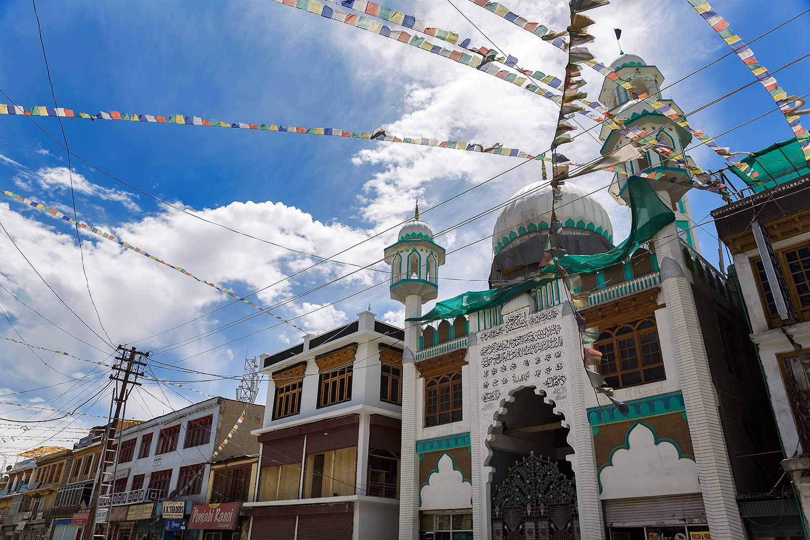 In Leh, it's the sights that act as a reminder of a spirit-centric population. There's a great sense of peace in Ladakh, built on religious tolerance and respect for other cultures.