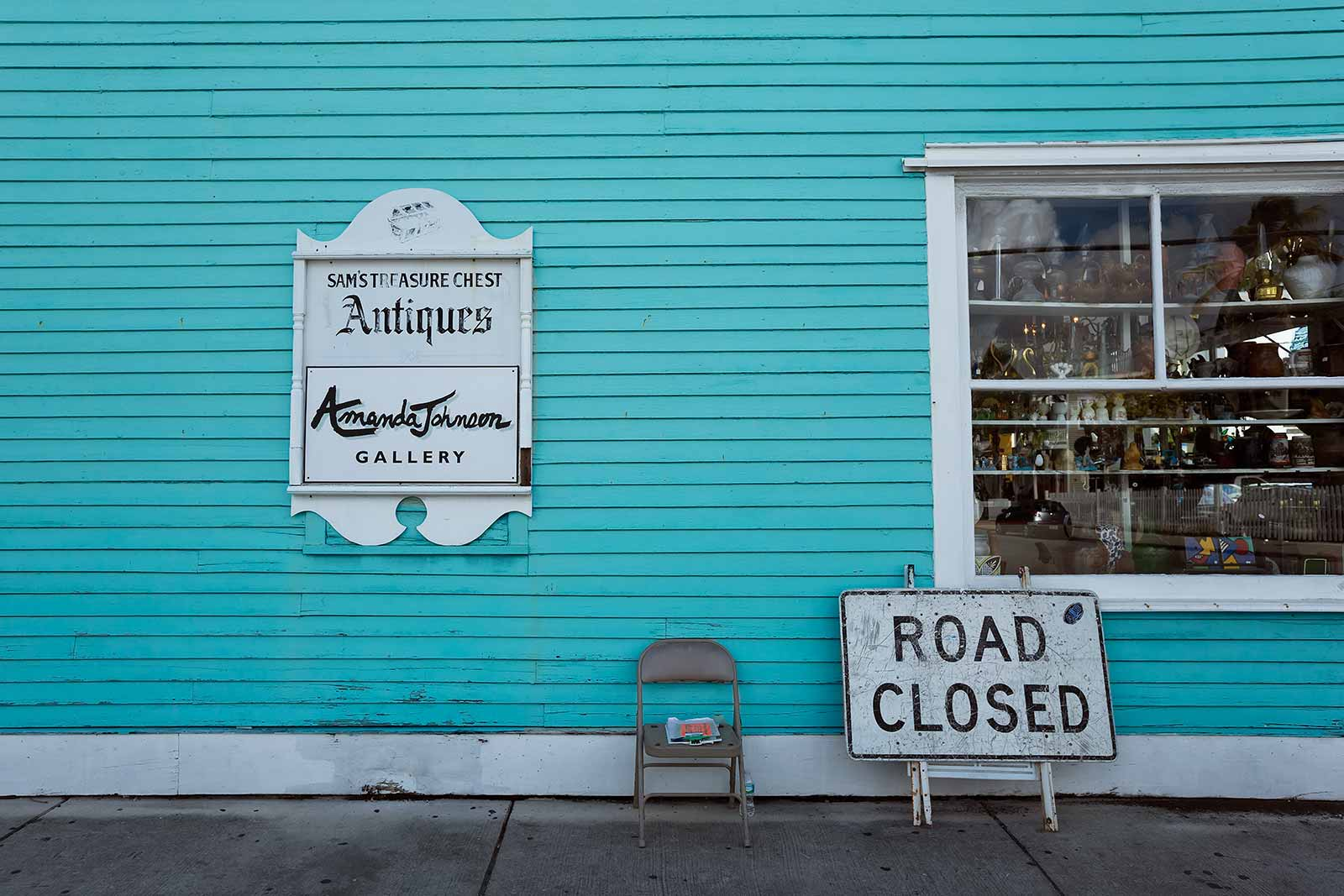 You'll find many cute little shops all over Key West.
