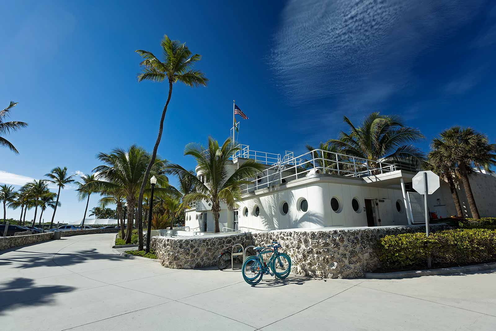 The best way to explore Miami Beach is by bicycle. A Citi Bike card is all you need to get around the area.