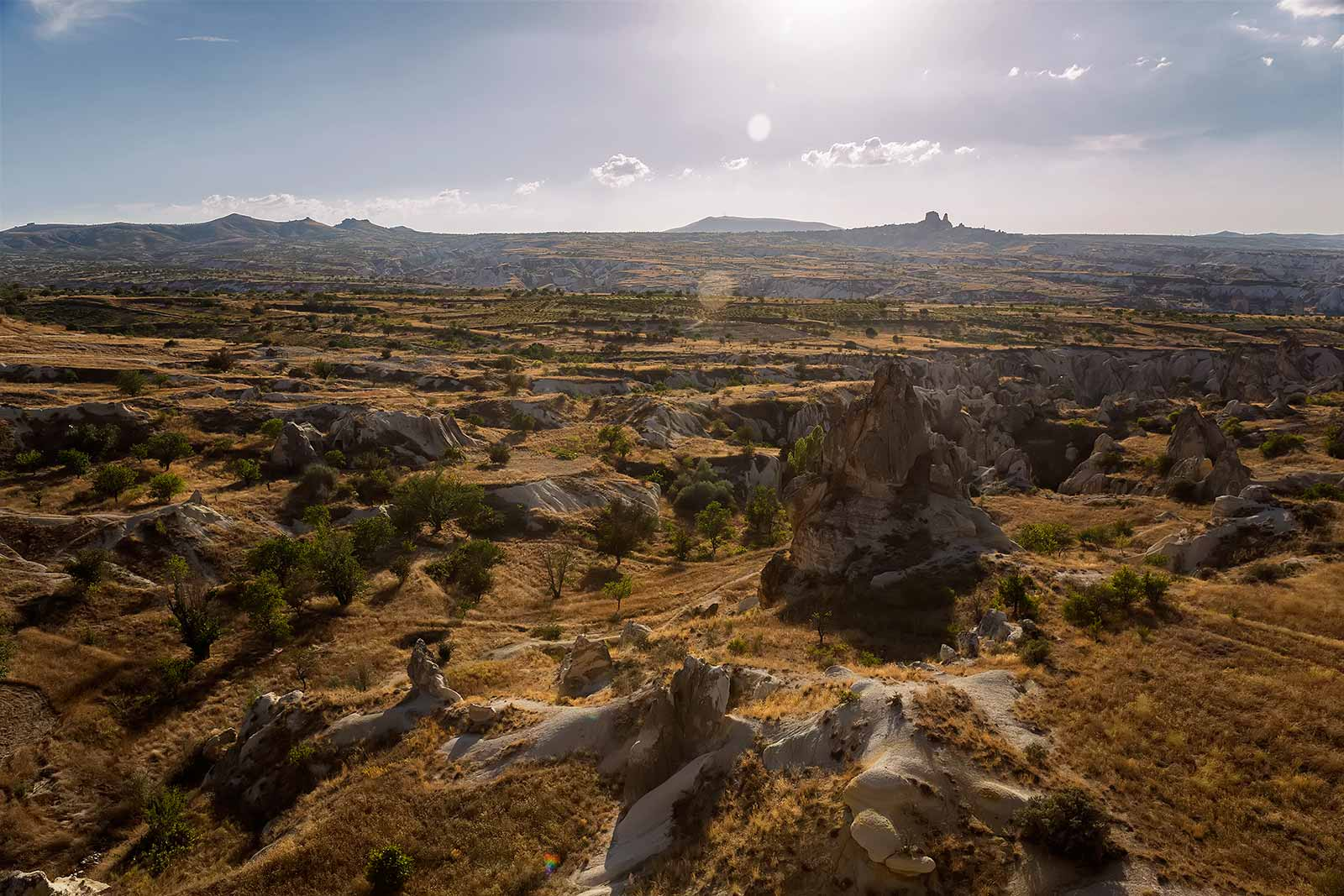 In Cappadocia magic seem real. How could geology explain such a surreal phenomenon of fairy like chimneys? The landscape truly looks like something out of a Salvador Dali dream.