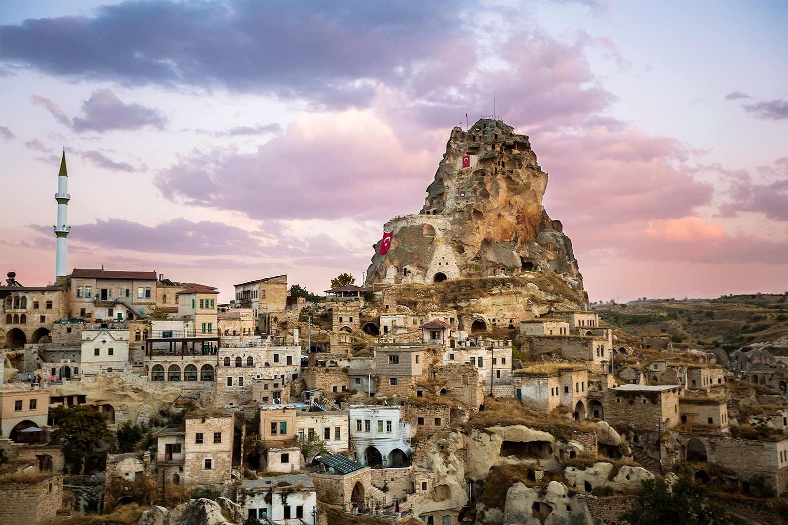 "Ortahisar means ""middle castle,"" and as its name implies, it is central among the Cappadocian towns. Still, it stayed more or less on the sidelines despite its central location, which made it perfect for us."
