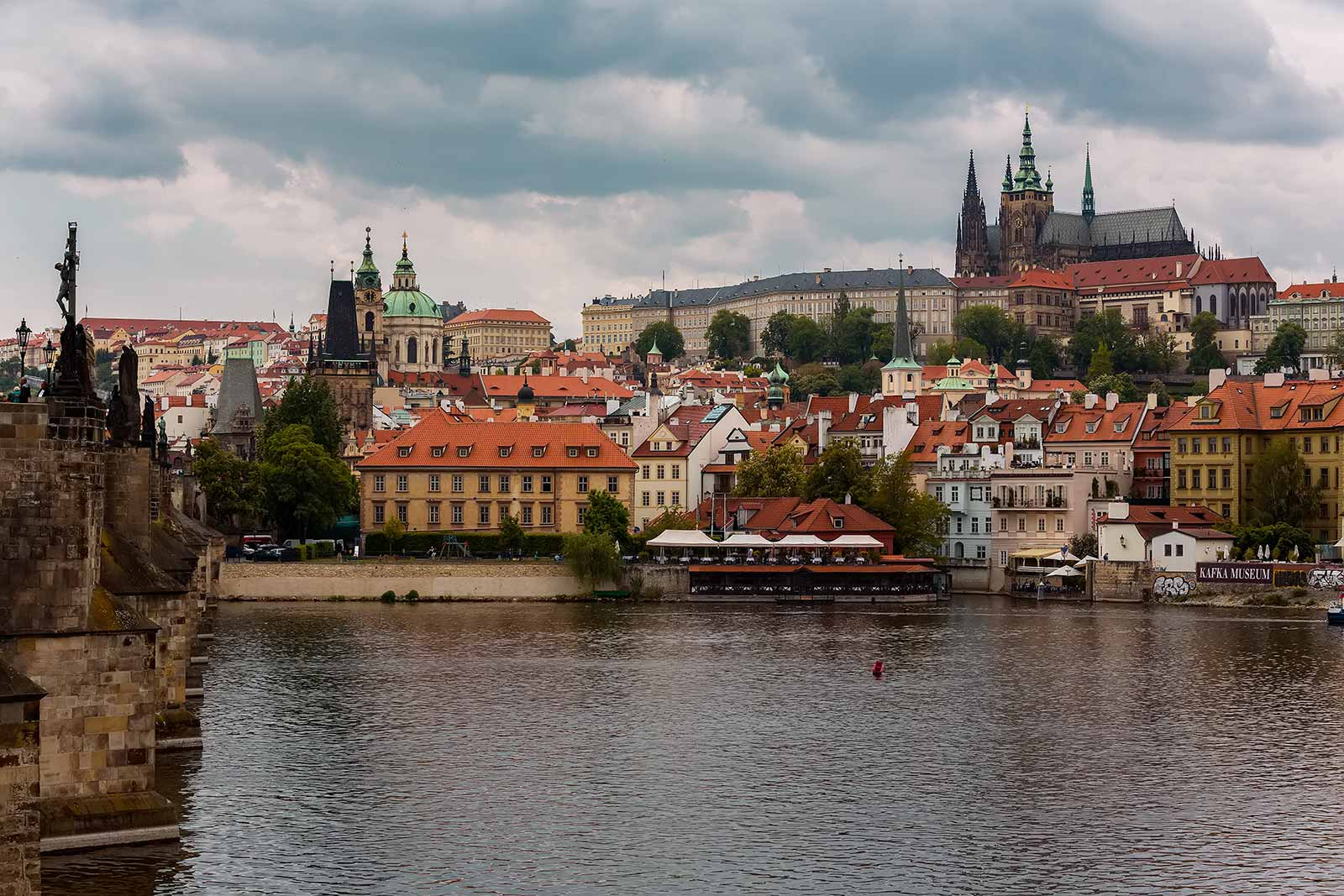 According to the Guinness Book of World Records, Prague Castle is the largest coherent castle complex in the world, with an area of almost 70,000 m². It's also a UNESCO World Heritage site.