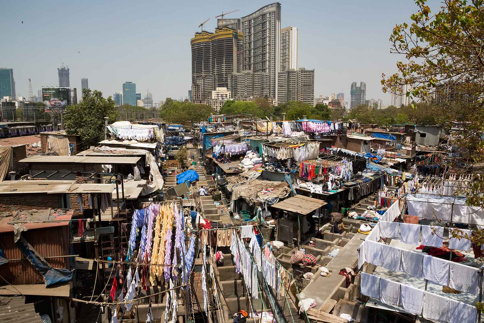 If you want to enter Mahalakshmi Dhobi Ghat, you will be asked for money, since this place has become such a tourist attraction.