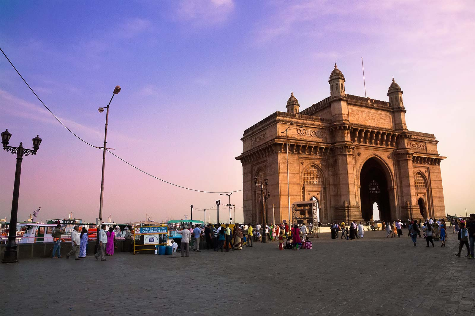 The Gateway of India was erected to commemorate the landing of King George V and Queen Mary when they visited India in 1911. Today, it is one of India's most iconic structures.