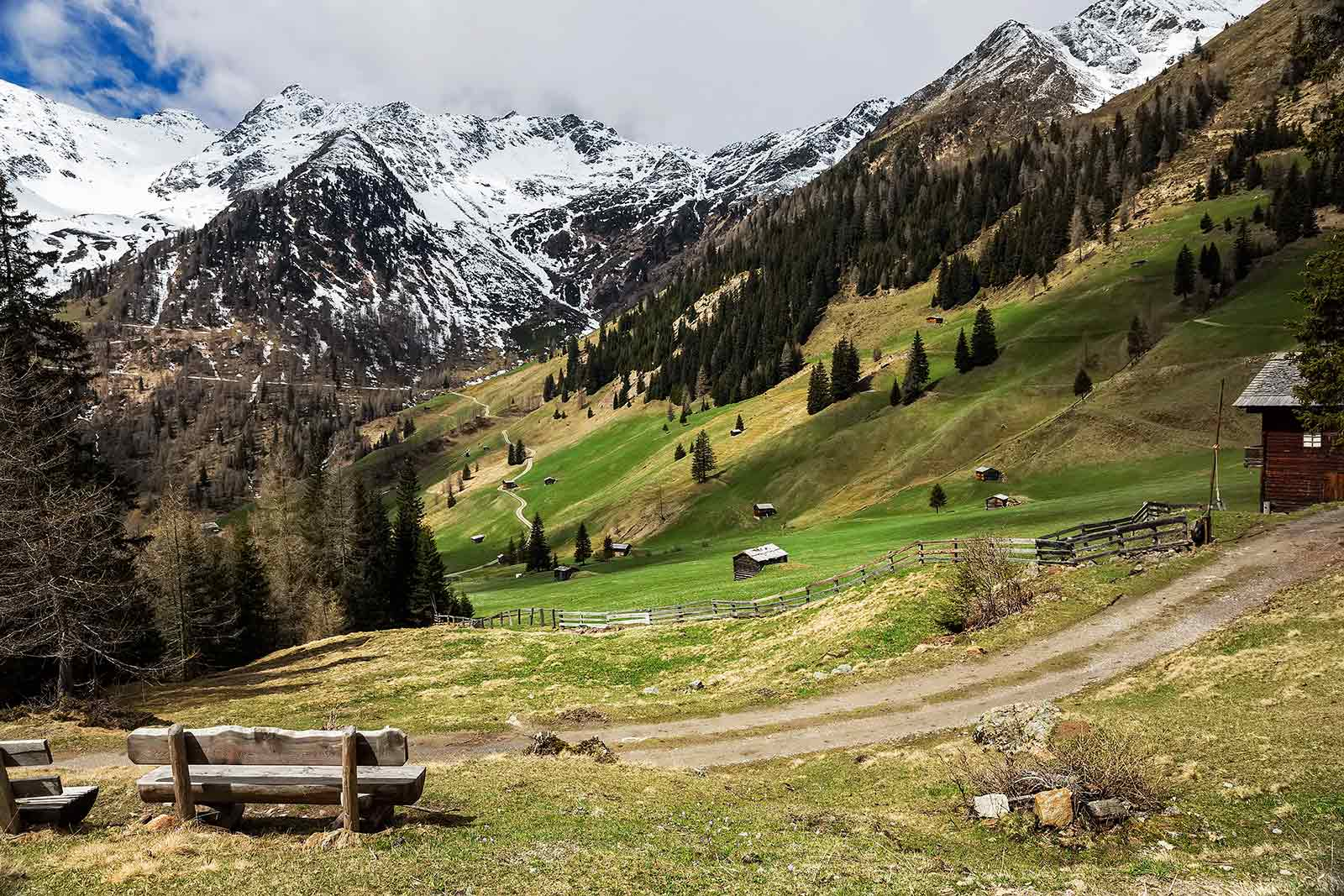 The landscape around the Innervillgraten valley is one of the most beautiful we've come across in Austria.