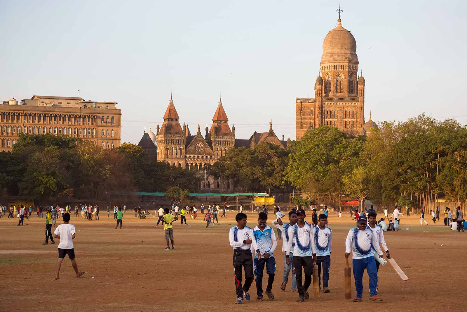 Oval Maidan is the perfect spot to get away from Mumbai's busy life.