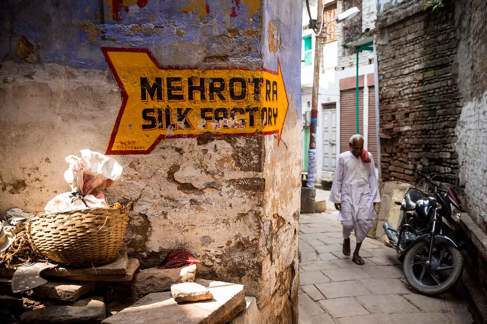 There is something new and colourful to explore around every corner in Varanasi.