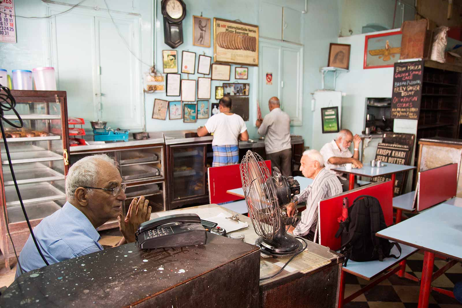 Yazdani Restaurant & Bakery was opened in Mumbai in 1953 by Meherwan Zend. Today, the three brothers, Rashid, Zend, Parvez and his son, Tirandaz run the bakery.
