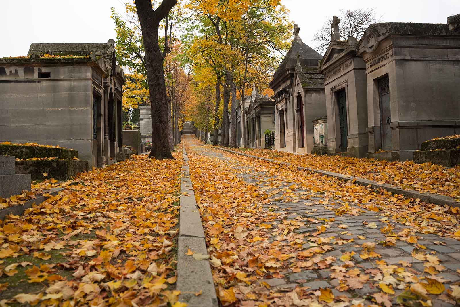 Pere Lachaise was the first garden cemetery, laid out in the 20th arrondissement of Paris. It marked a shift in burial practices and rapidly became the model for similar style cemeteries throughout Europe.