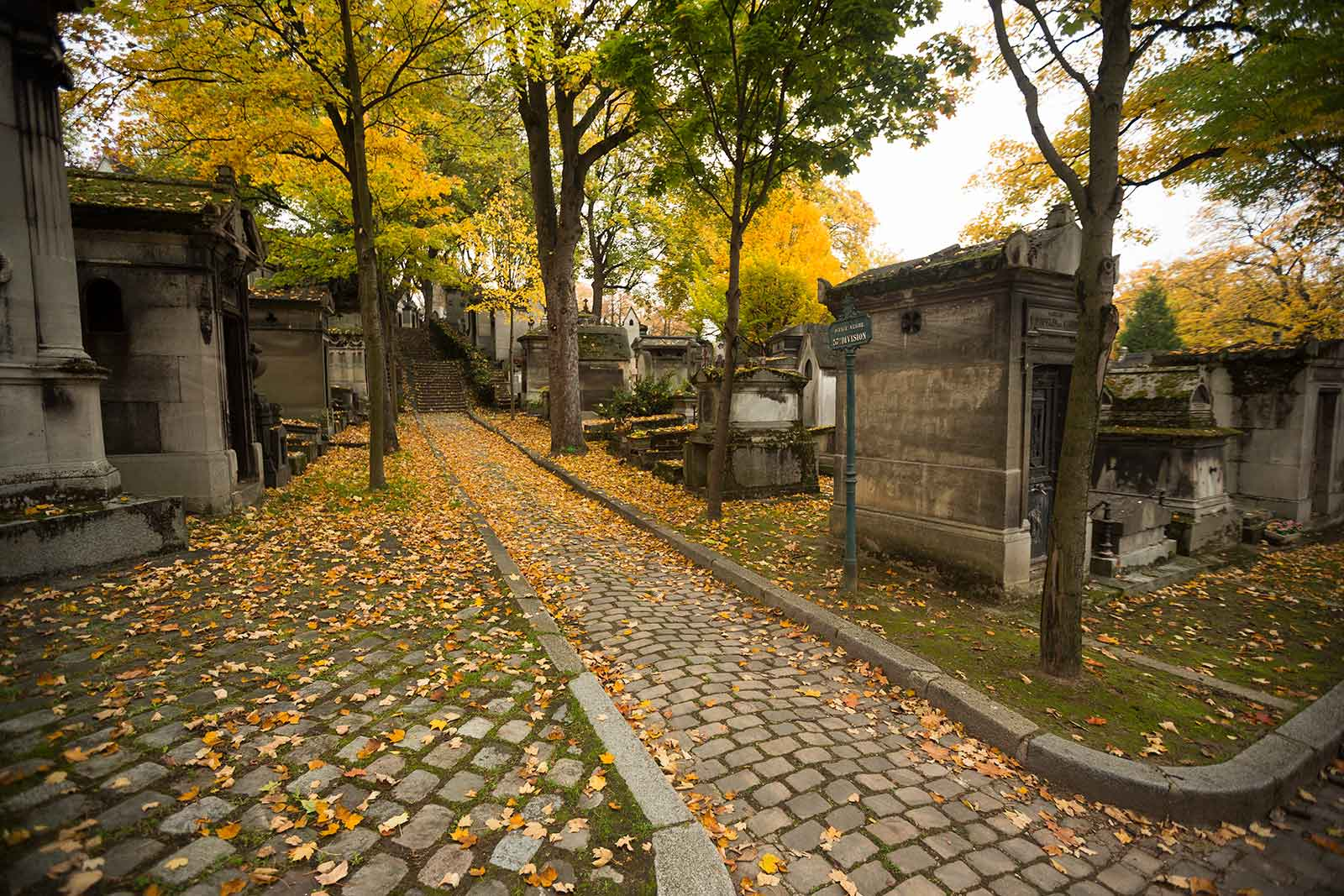 The Père Lachaise cemetery takes its name from King Louis XIV's confessor, Father François de la Chaise.