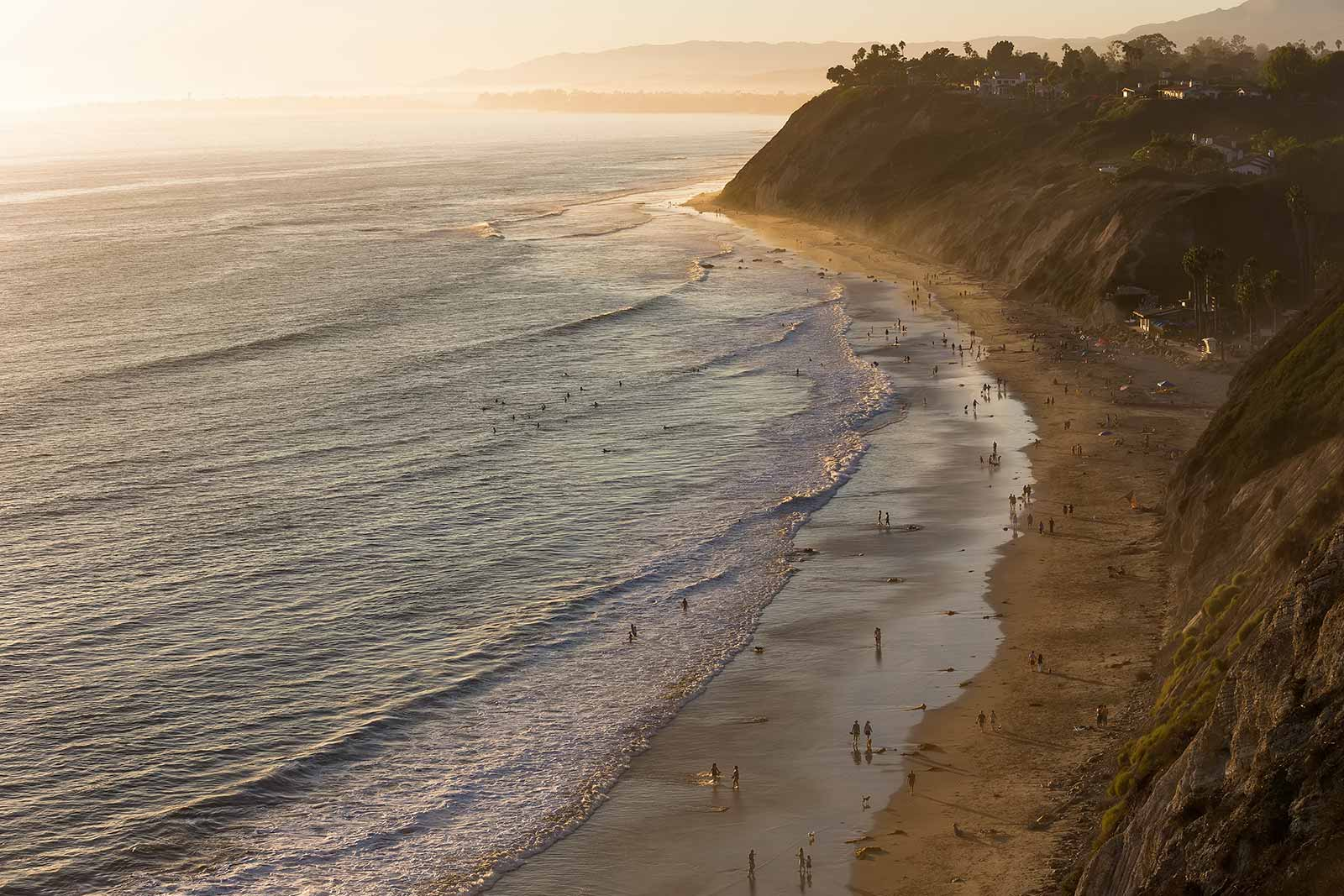 Santa Barbara has some amazing beached along the Central California coastline with a Mediterranean feel.