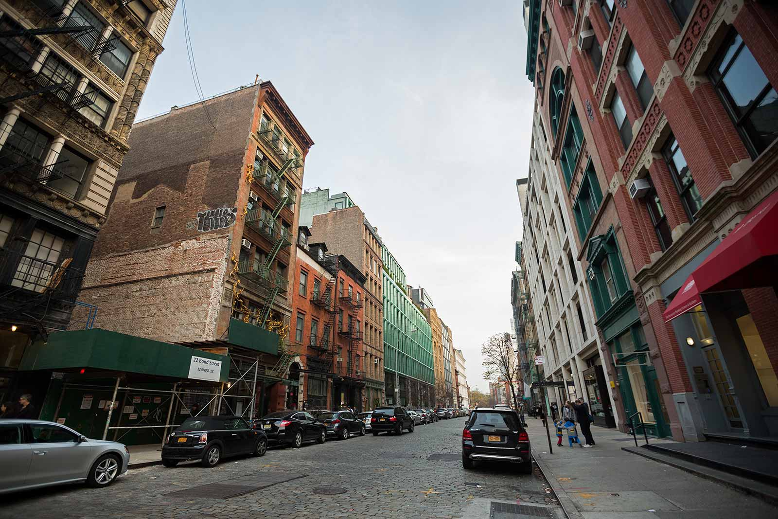Soho is home to a vibrant artistic community, which makes this my favourite place in New York City.