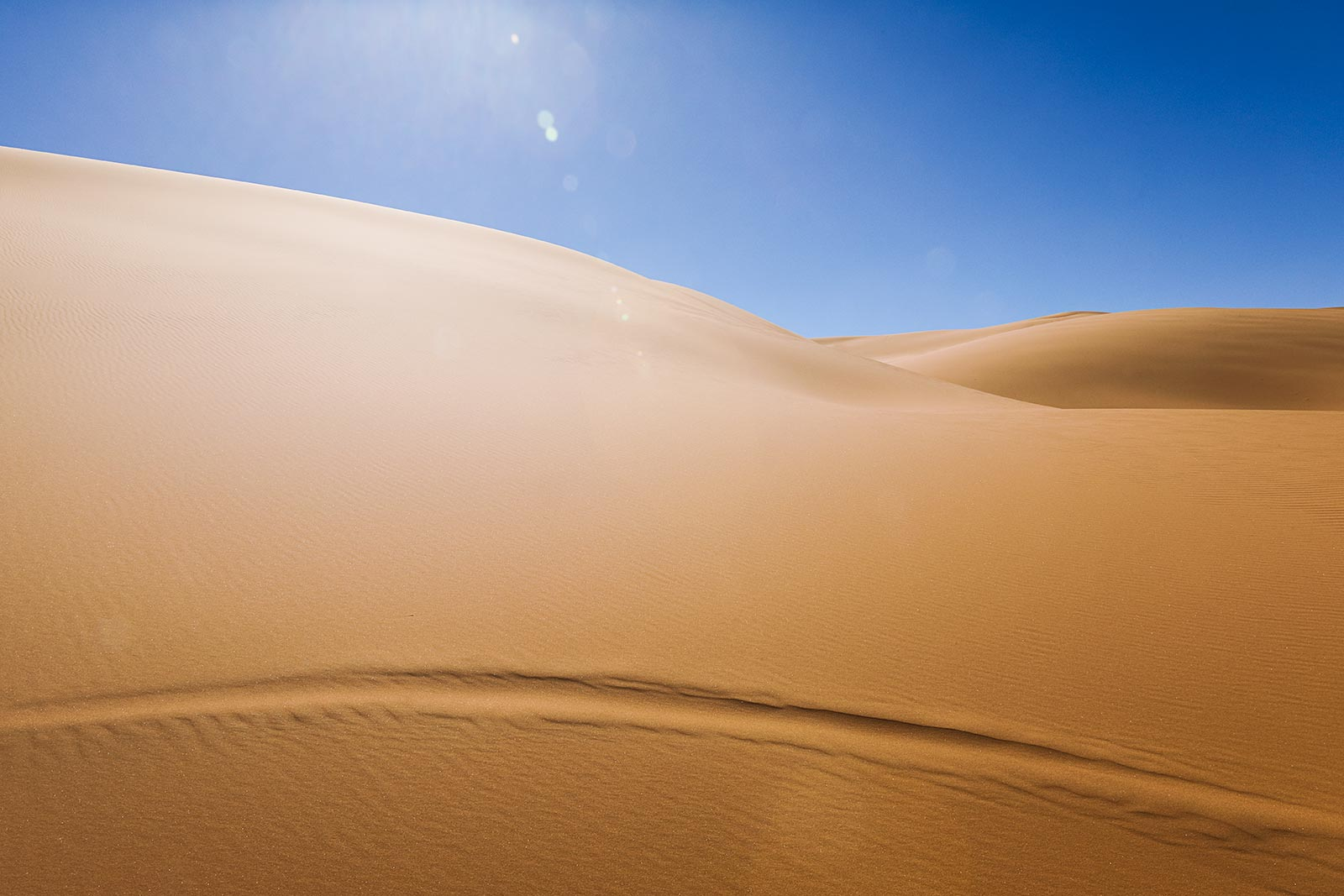 The Erg Chebbi sand dunes are spectacular at any time of day, but late afternoon was really the best time to view them.