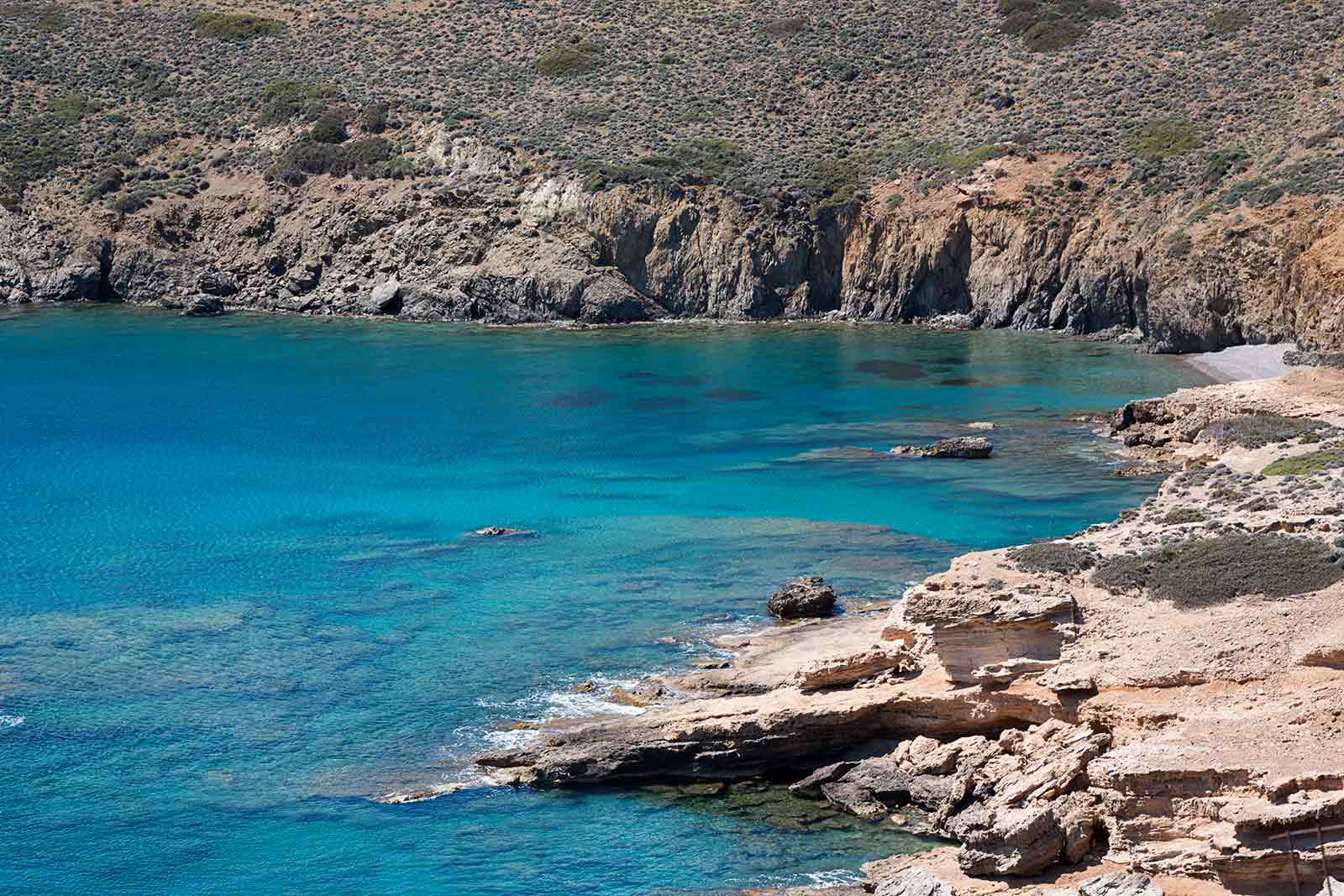All beaches in Astypalea have crystal clear water and they're much quieter than beaches on other Greek islands.